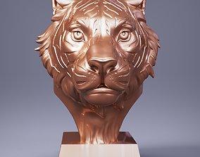 3D printable model Tiger Head Number05