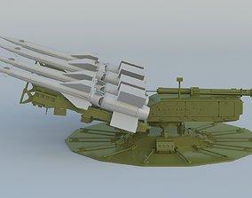S-125 Neva Pechora SA-3 Goa 3D model