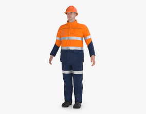 Workman Mining Safety 3D model