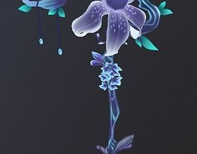 Flower Weapon 3D Model game-ready