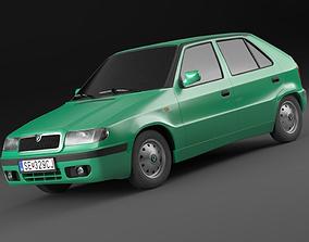 Skoda felicia facelift 98-01 exterior only 3D