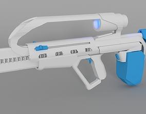 Fusilade Scifi Carbine Concept 3D model