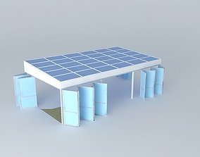 3D model Alreyn Eco house