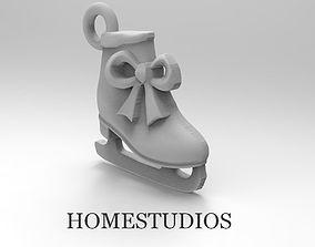 3D print model EARRINGS SKATES