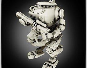 Robot Miniature CRD3 Drone 3D printable model