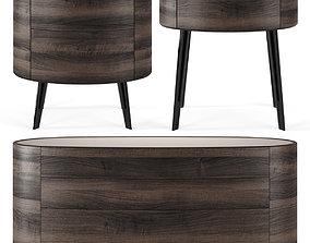 furniture Poliform Kelly by Emmanuel Gallina 3D model