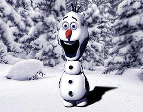 3D print model Olaf Snowman