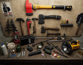 3D model Survival Items Pack UE4