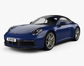 porsche 3D Porsche 911 Carrera 4S cabriolet 2019
