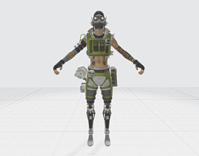 Apex Legends - Octane Character Model games