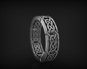 Ring With Ornament fassion 3D printable model