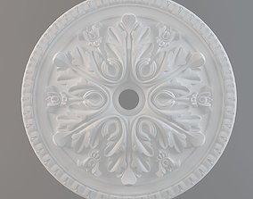 3D print model ceiling plate