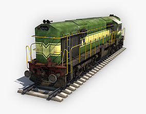 Locomotive Diessel 3D model