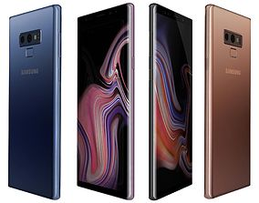 Samsung Galaxy Note 9 All Colors 3D model appliance