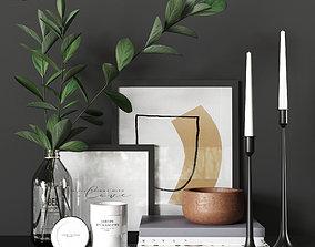 Decorative set picture 3D