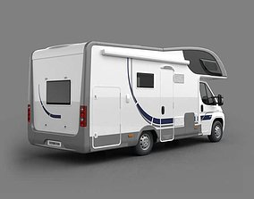 3D Modern Camping Vehicle