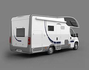 3D Modern Camping Vehicle