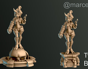 Hellgirl 3D printable model