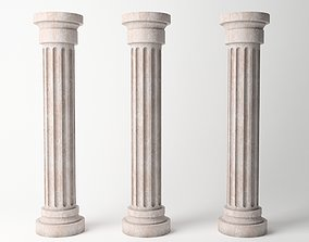 Antique Column 03 3D model