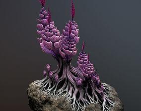 3D model Alien plant Succulent Type 1