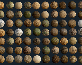 3D 70 Ground Seamless PBR Texture Pack