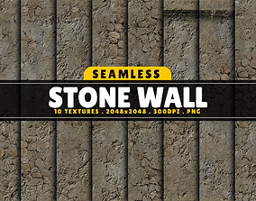 3D Texture Pack Seamless Stone Wall Vol 01