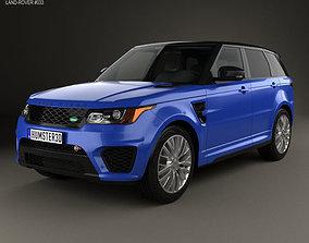 3D Land Rover Range Rover Sport SVR 2015
