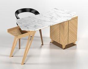 3D model Table Desk Modern
