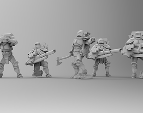 Knights of Roma - Devastation 3D printable model 2