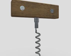 Corkscrew 3 3D asset