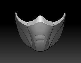Scarlet and Jade mask for cosplay 3D printable model 4