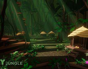 POLY Jungle 3D asset