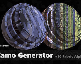 Camo Generator 3D