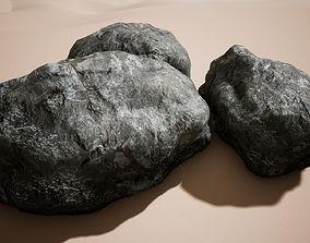 Rock - PBR Game-Ready 3D asset