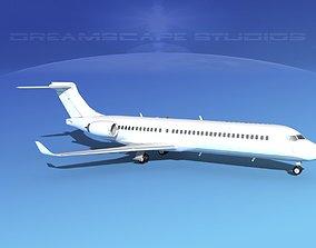 3D model Comac ARJ21-700 Unmarked 1