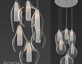 3D model KUZCO Lighting Victoria MP3006 Pendant Light