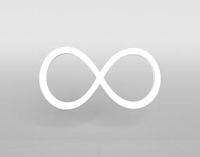 3D asset Unlimited Symbol v1 002