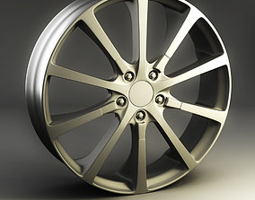 3D model 3dmodel Alloy Wheel