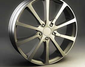 3D model 3dmodel Alloy Wheel