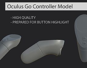 3D Oculus Go Controller VR