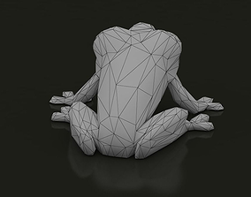 Low Poly Tree Frog 3D model