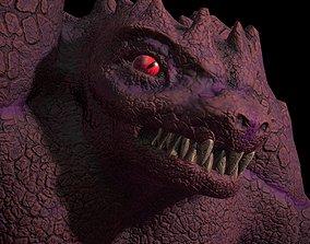 Monster 3D asset animated realtime PBR