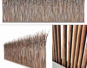 Screen branch thin decor n6 3D