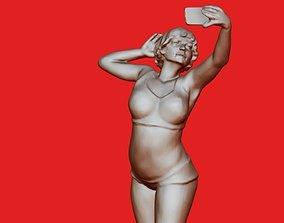 3D print model Selfie
