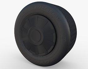 3D Tesla Truck Wheel 2