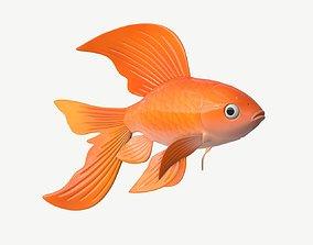 Goldfish cartoon 3D