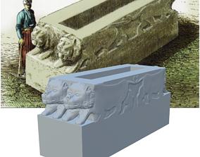 Hattusa Hittite Empire Head Stone Model
