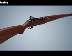 M1 Garand Rifle 3D model