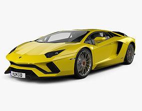 Lamborghini Aventador S 2017 3D