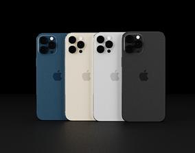 3D model iPhone 13 Pro Max Smaller Notch Concept